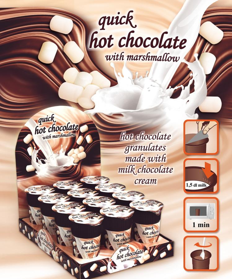 Горячий шоколад в микроволновке 5
