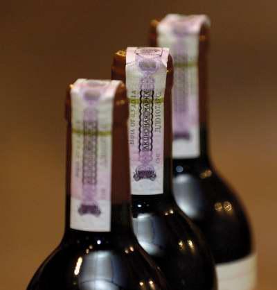 Акцизы на вино натуральное